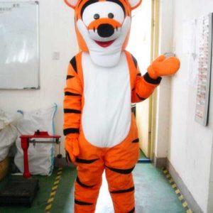 New Tiger Mascot
