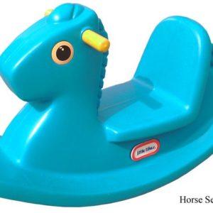 Horse Sea Saw Green